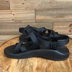Chaco Black Sandal with Black Straps Size 8